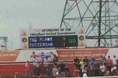 Spurs scoreboard