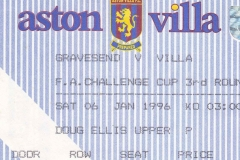 villa park ticket